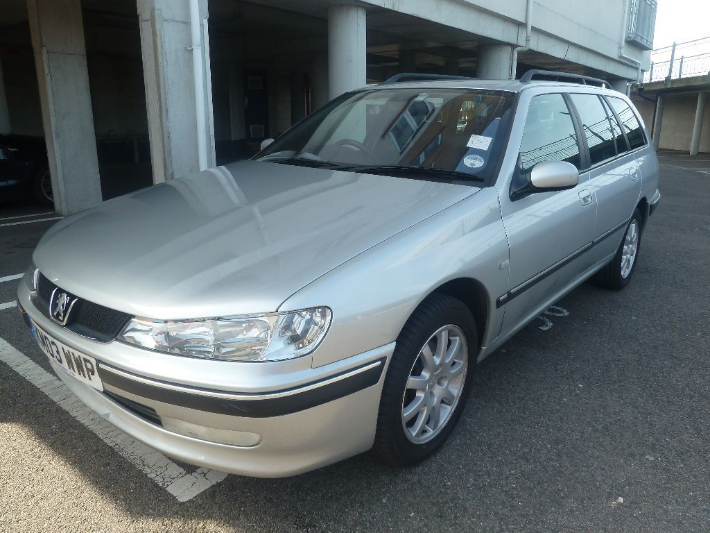 Peugeot 406 HDI Estate manual- Air Con, Half Leather, Alloy wheels, cruise
