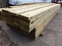 8x2 Timber Treated c24 4.8m lengths