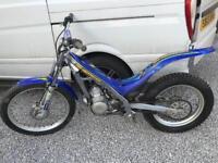 Sherco 250 2002 trials bike, beta gasgas gas gas