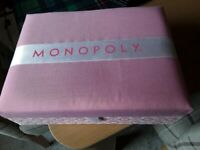 Pink Boutique Edition Monopoly Board Game Complete Presentation Box