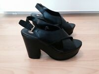 River island heels size 4 worn once