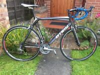 Btwin FC700 full carbon 20 speed Road bike,60cm 8.4kg frame,tiagra gears,700c wheels