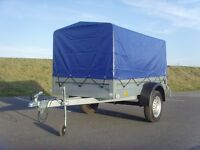 NEW Car 7ft x 4ft 750kg trailer with canvas cover
