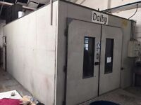 SPRAY BOOTH*** OPEN ON OFFERS