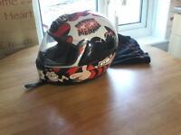 dennis the menace road legal bike helmet