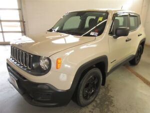 2015 Jeep Renegade Sport- BACK-UP CAM! BLUETOOTH! ONLY 60K!