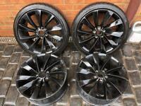 "18"" VW Scirocco Turbines Wheels Will fit golf caddy Audi Skoda.. Vag group"