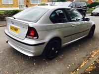 BMW AUTOMATIC 3 SERIES 318 COMPACT 2003, PETROL, F.S.HISTRY,RECENTLY SERVICED