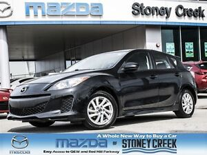 2013 Mazda MAZDA3 GS- SPORT .65% CERT, ACCID FREE, LOW KMS, 1 OW