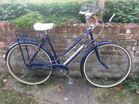 Ladies vintage bicycle Raleigh
