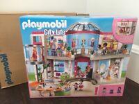 NEW - Huge Box Playmobil City Life Shopping Centre 5485