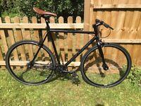 Claud Butler El Camino 59cm single speed fixie / freewheel 2014