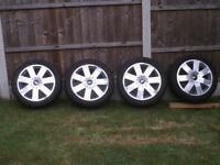 """Ford 17"""" mondeo/galaxy/connect alloys"""