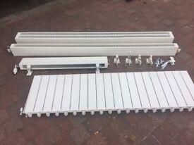 4 x various sized radiators