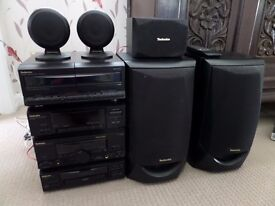 Technics Complete Hi Fi System with Surround Sound