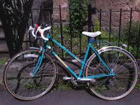 Retro Bike with Kryptonite Lock