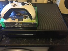 Xbox one with games and all leads and a controller, £150 ono
