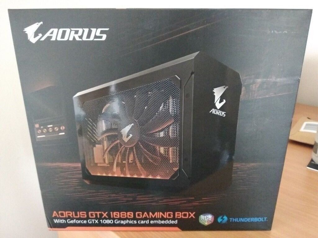 Gigabyte AORUS GTX 1080 Gaming Box Thunderbolt 3 GPU BNIB | in Yate,  Bristol | Gumtree