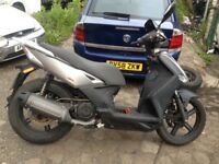 Kymco agility city 125 cc rev and go moterbike scooter bigger wheels 2014 64 reg 07466337981