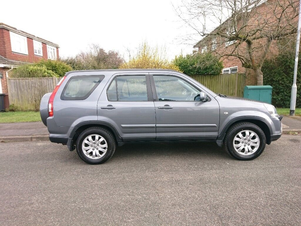 Honda CRV CTDi Sport 2.2 , 2005, Diesel Manual Grey MOT to Jan 2019 Very