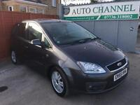 Ford Focus C-Max 2.0 TDCi DPF Ghia 5dr p/x welcome FREE WARRANTY. NEW MOT