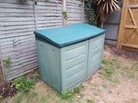 Garden storage box/shed