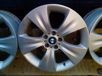 !!CLEARANCE!! BMW X5 19'' ALLOY WHEELS Genuine Staggered set of four E70 5x120