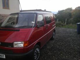 VW Transporter low mileage T4 ideal for surf bus camper. 2.5TDI