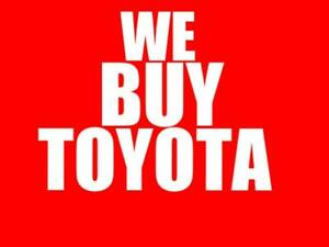 416-529-6625 WE PAY TOP DOLLAR  UP TO $9000 CASH TOYOTA COROLLA CAMRY SIENNA MATRIX HIGHLADER VENZA 4RUNNER RAV4 TUNDRA