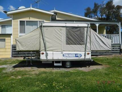 ACT CRUISER HARD TOP 8 FOOT CAMPER TRAILER.