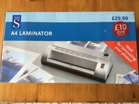 New WH Smiths laminator & pouches