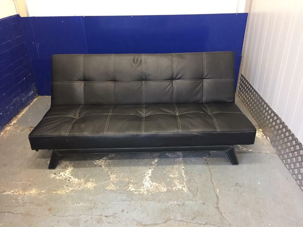 Leather sofa bed, Free deliveryin Clapham, LondonGumtree - Lovely high quality genuine, very nice in good condition.Very sturdy and high quality and chairs lvery comfortable. Minor marks.Pet and smoke free home.Dimensions To be confirmed. Free deliveryGrab a bargain today as its in great condition, now only...