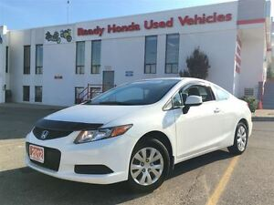 2012 Honda Civic LX Coupe - Only 49KM!!!