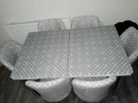 👌👌DESIGNER SALE⭐⭐ ON LOUIS VUITTON EXTENDABLE DINING TABLE AND 6 CHAIRS