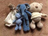 Baby soft toy bundle include JellyCat