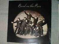 Band on the Run original vinyl PAS10007 plus poster
