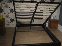 DOUBLE BED THAT LIFTS FOR UNDER BED STORAGE
