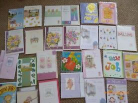 ABOUT 1000 GREETING CARDS