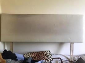 King size headboard... leather