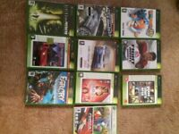 X Box Games - 10 different games