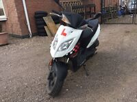 KYMCO DJ 50 S 49CC (2012) MOPED / SCOOTER FOR SALE