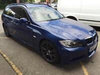 BMW 3 Series 325d M Sport 5dr Auto (blue) 2008