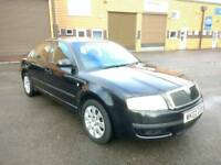 LOVELY SKODA SUPERB 2.5 TDI, HUGE SPEC, NEW MOT, FSH - A MUST SEE!