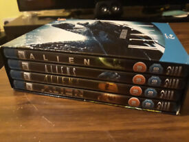Alien Anthology Blu-ray Films 1-4 (1979) 4 Disc Set