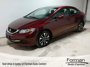 2014 Honda Civic EX - Low KMS   Heated Seats   Sunroof   Remo...