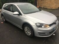 2013 63 VOLKSWAGEN GOLF 1.2 S TSI BLUEMOTION TECHNOLOGY FULLY REPAIRED CAT C £30 YEARLY TAX FULL MOT