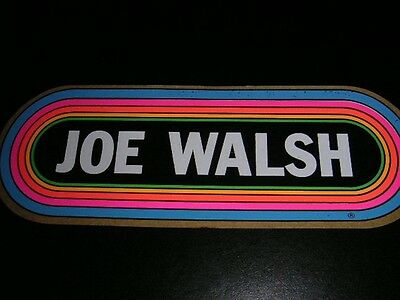 KLOS Rainbow Decal/Sticker - JOE WALSH - The Origina