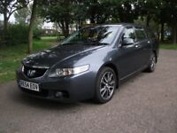 HONDA ACCORD 2.2i CTDi Executive 5dr (silver) ESTATE=DIESEL=LEATHER=TOP SPEC=FULL SERVICE HISTORY