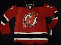 BNWT New Jersey Devils #17 Kovalchuk Red Home Style Ice Hockey Jersey L Size