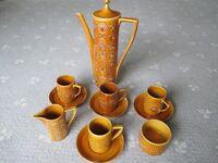 Vintage Portmeirion 'Totem' Coffee Part Set